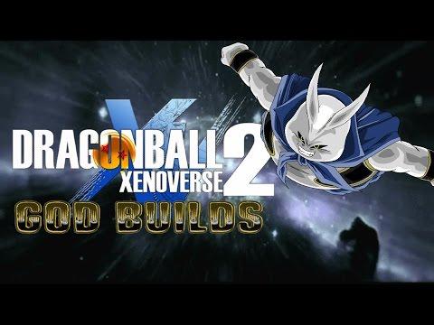 Dragonball Xenoverse 2 God Builds Enlil (The Ranged Midget Majin Tank)