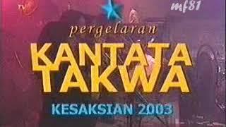 IWAN FALS | PERGELARAN KANTATA TAKWA | KESAKSIAN 2003 | FULL HD