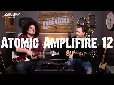 Rabea and Pete - Atomic Amplifire 12