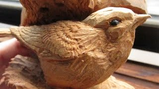 The Bread Of The Bush Warbler!! [wood Carving! ]