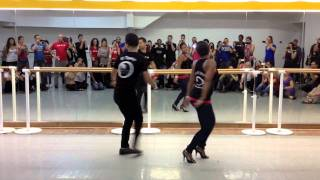 Dominican Bachata Dance - Antony Santos: El Tiguere and Kimberly Rivera