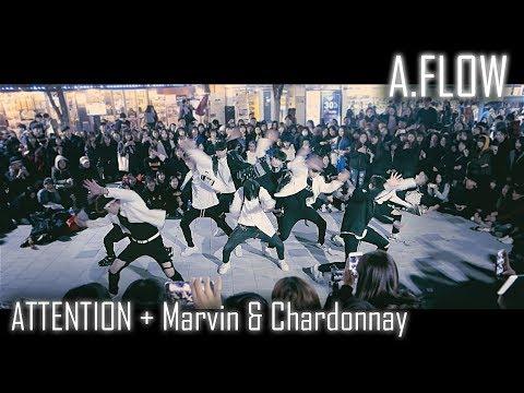 [2017 마지막 버스킹] A.FLOW | Attention + Marvin & Chardonnay | Choreography By Euanflow & Vana | LEtudel