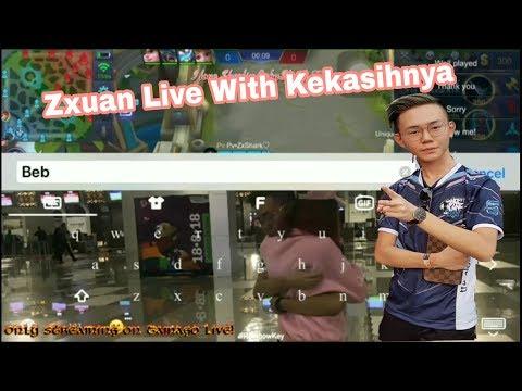 ZXUAN LIVE STREAMING•|BARENG KEKASIHNYA ZxShark❤