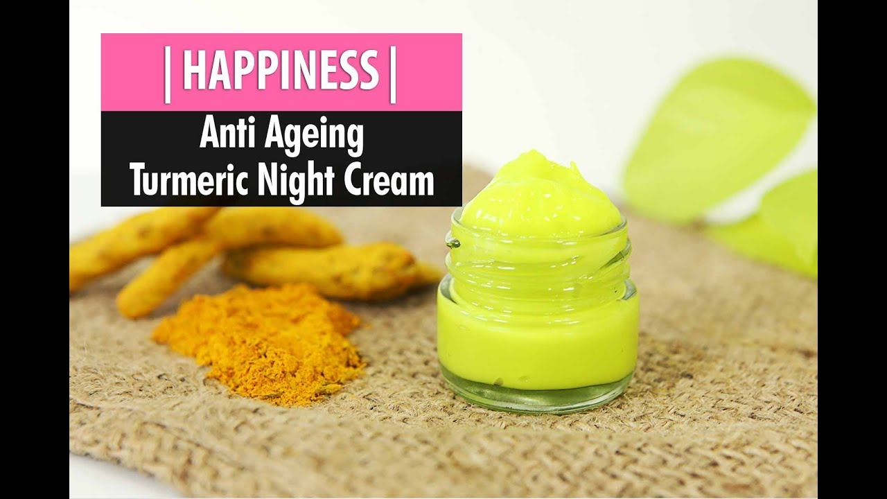 Anti Aging Night Cream Homemade turmeric night cream | anti ageing wrinkle removal cream | zukazo original  | episode 2 |
