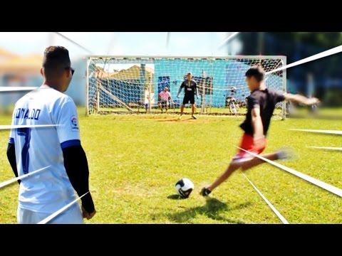 ⚽ Pernas de Pau FC vs Jogadores Profissionais ▶ Quem vencerá essa Batalha?