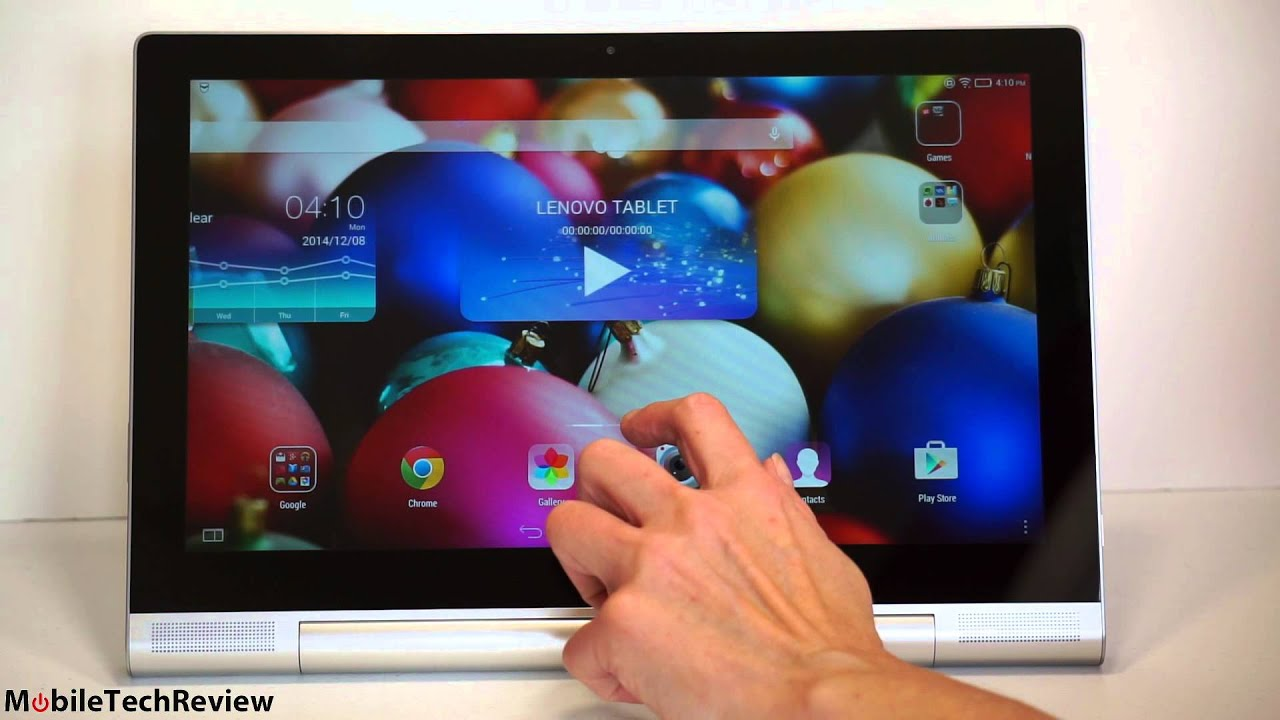 Lenovo Yoga Tablet 2 Pro Review - YouTube