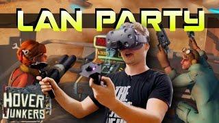 VR ROBOTS vs HUMANS PVP - Hover Junkers