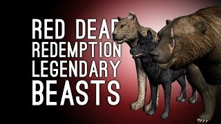 Let's Play Red Dead Redemption: HUNT THE LEGENDARY BEASTS! - Episode 30