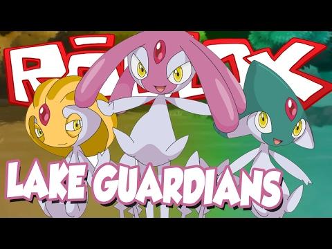 GETTING THE LEGENDARY LAKE GUARDIANS!! / Pokemon Brick Bronze / DefildPlays