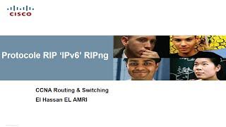 "Protocole RIPng ""IPv6"" (Darija)"