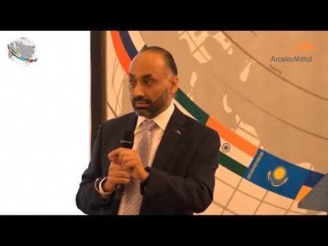 Paramjit Kahlon - CEO ArcelorMittal CIS - CIS Convention July 6-7, 2017 Astana Kazakhstan (part 1)