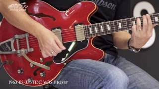 Gibson Memphis 1963 ES-335TDC VOS Bigsby【週刊ギブソンVol.131】 ギブソン 検索動画 47