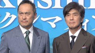 渡辺謙と佐藤浩市が、4月17日にリーガロイヤルホテル東京で行われた映画...