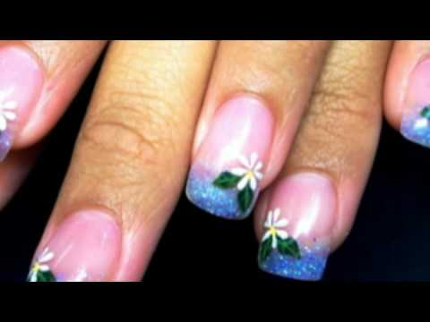 Cool Nail Art & Designs (Manicure) - YouTube
