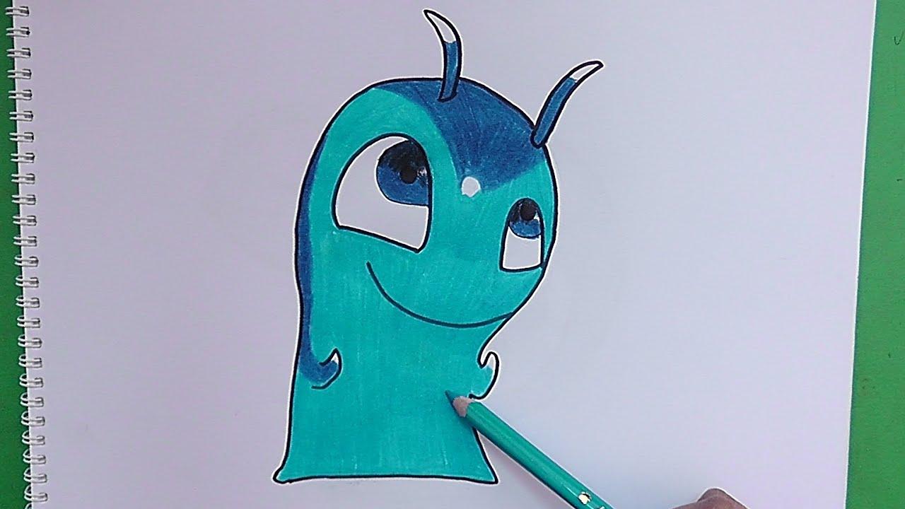 Como dibujar y pintar a phosporus bajoterra how to - Como pintar bien una pared ...