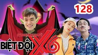 BIỆT ĐỘI X6 | BDX6 #128 | Tino bất ngờ 'TỐ' Quang Bảo dạy MC dở - Sĩ Thanh trổ tài ném bowling 😂