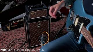 Vox AC30SI Combo & Mini Superbeetle 25 Stack Demo