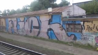 новогиреево-Кусково-Чухлинка-Карачарово-Серп и молот-Москва-Курский вокзал. Поездка на электричке