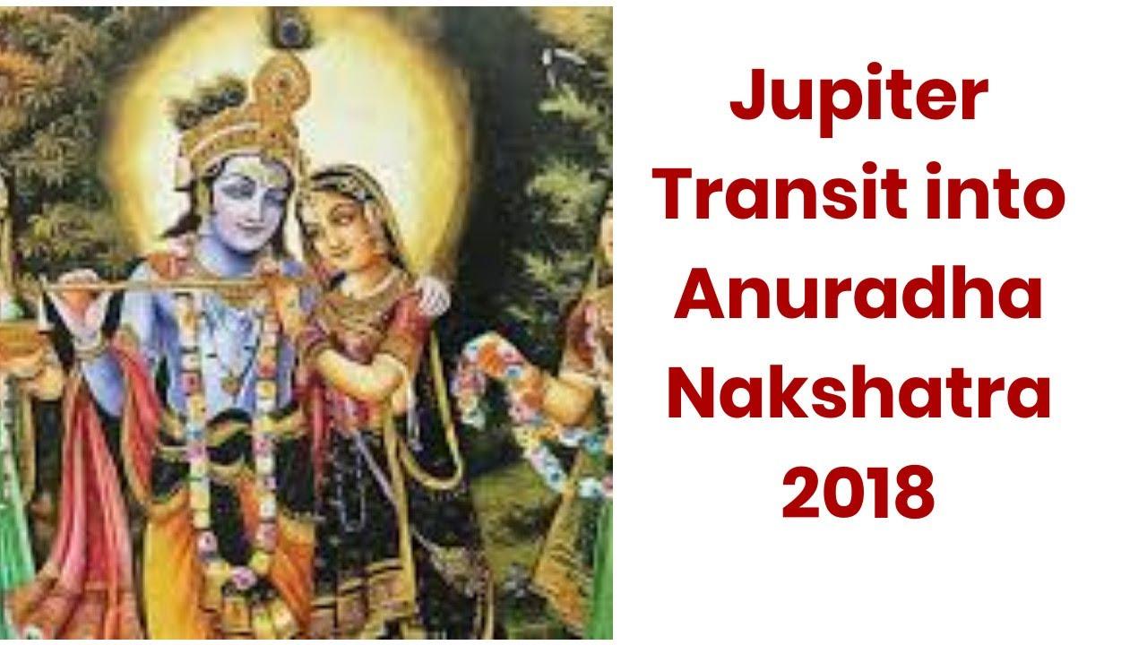 Jupiter Transit into Anuradha Nakshatra 2018 [Hindi]
