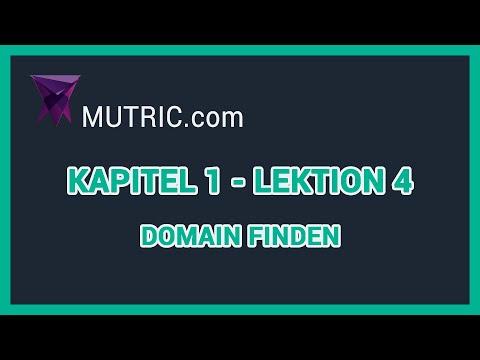 💎 ► Welche Domain und Endung?  [Wordpress Allgemein] | Mutric.com »