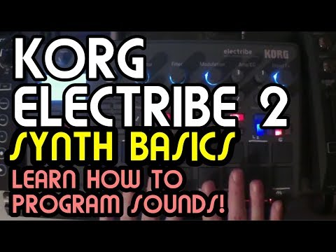Basic Synth Programming and Recording // Korg Electribe 2 Tutorial