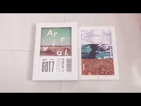Got7 Flight Log:Arrival album unboxing