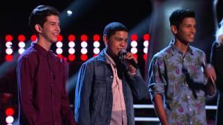La Voz Kids | Leosmany, Danny y Jersen cantan 'Me llamaré tuyo' en La Voz Kids