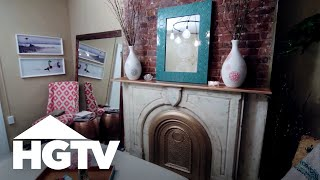 DIY Boutique Hotel Bedroom | HGTV