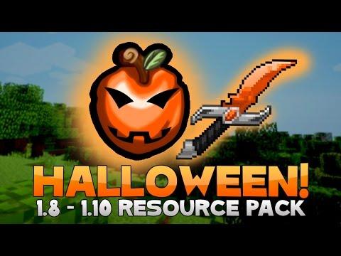 AciDic BliTzz HALLOWEEN Texture Pack (1.8/1.9/1.10 Resource Pack)