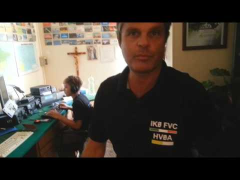 Martin Faraglia young amateur radio 13 year old HF broadcasts from the Vatican City with name HVOA