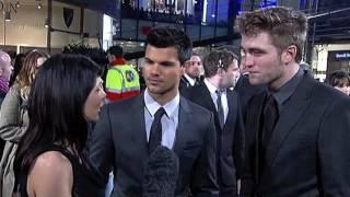 Robert Pattinson on filming the sex scenes in The Twilight Saga: Breaking Dawn - Part 1