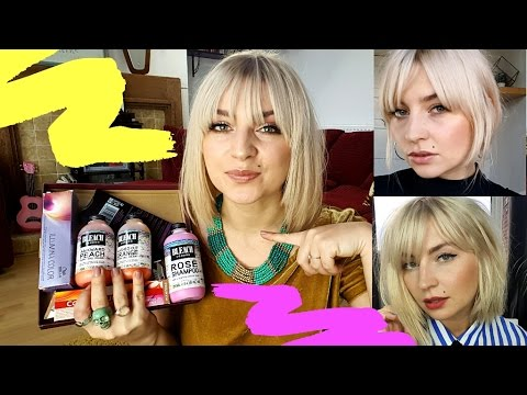 CZYM I JAK FARBUJĘ WŁOSY? ❤ piaskowy blond - WŁOSOWY UPDATE ❤ farbowanie włosów w domu ThePinkRook