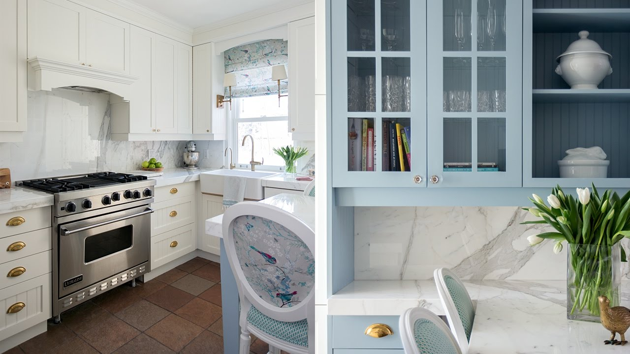 Interior Design — Pretty Kitchen Makeover On A Budget - YouTube