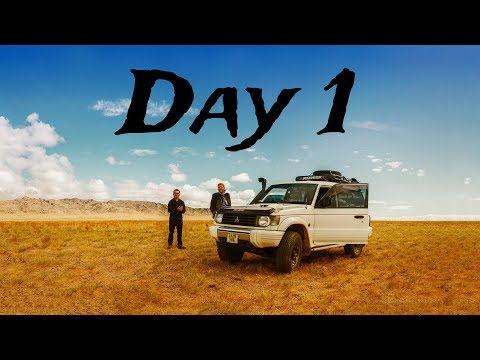 Travel Series ON AND OFF ROAD IN MONGOLIA, Ep. 1