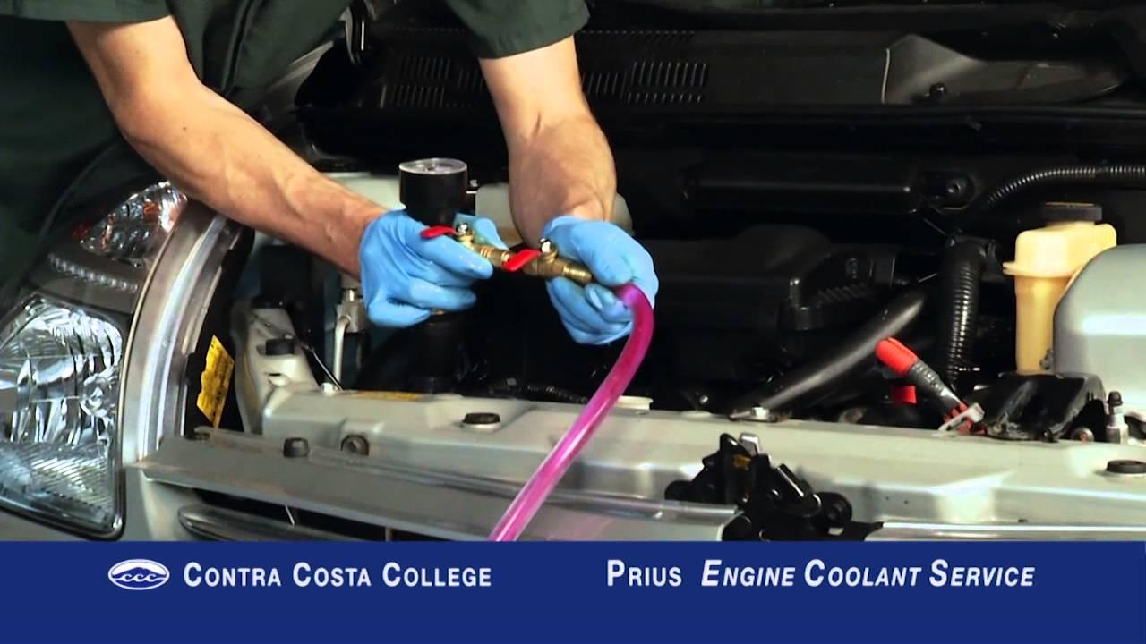 2010 prius coolant type