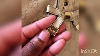 Pre-Loved Gucci bag reveal + what's in my bag?! Summer 2018|EBAY