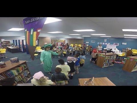 Literocity ! - January 2017 Ellis Island Re-enactment at Belleair Elementary School