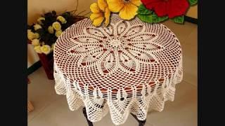 Dantel Sehpa Örtüsü Fiskos Modelleri Tığişi & Crochet