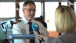 MS DEUTSCHLAND Schiffsrundgang 2. Teil, Kapitän-Interview & Kreuzfahrtstopp Frankreich I PHX TV #7