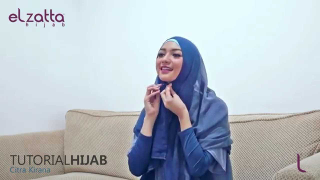 Hijab Tutorial Citra Kirana Elzatta Hijab Ramadhan 1436 H