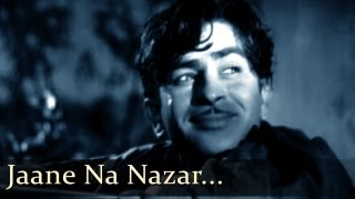 Aah - Jaane Na Nazar - Raj Kapoor - Nargis - Bollywood Romantic Songs - Lata Mangeshkar - Mukesh