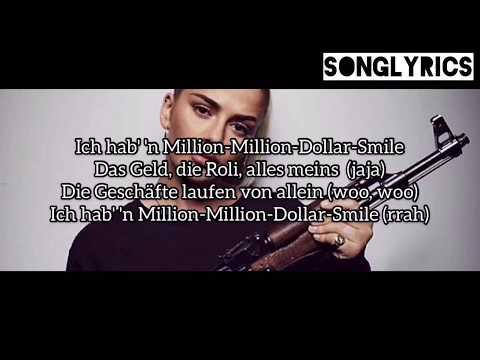 LOREDANA - MILLIONDOLLAR$MILE Lyrics (SONGLYRICS) 1,5 Geschwindigkeit ( *Auf 0,75 Stellen*)