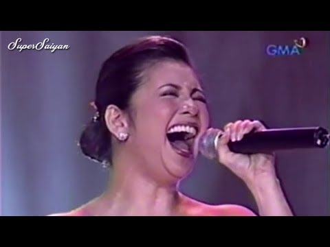 I DON'T WANNA MISS A THING - Signature High Note Compilation - Regine Velasquez