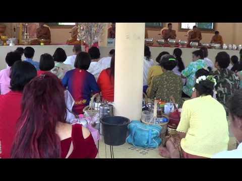 Kachanaburi Temple Songkran Day 2013