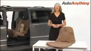 petego seat protector tan gray waterproof dog seat covers for cars trucks suvs