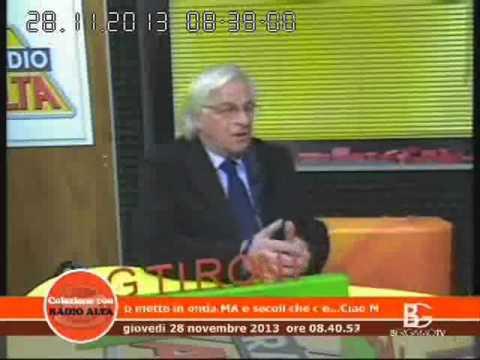 """Istituto Leonardo da Vinci - Bergamo. Intervista a Radio Alta """"Il web che ferisce"""" 28.11.2013"""