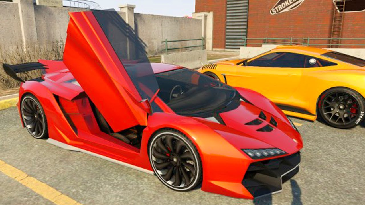 Grand Theft Auto V  Customizing Zentorno [lamborghini Sesto Elemento] And  Racing  Part #19  Youtube