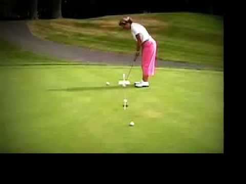 Christine M Reuss – Golf Instruction Tip – Putting (Head on View)