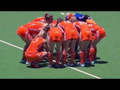 Netherlands vs Germany   Women's Hockey Champions Trophy 2014 Argentina Quarter Final 1 4 12 2014