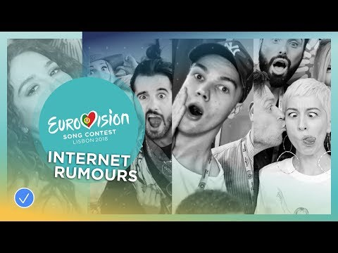 Eurovision artists explain the WEIRDEST or funniest thing they've read about themselves online